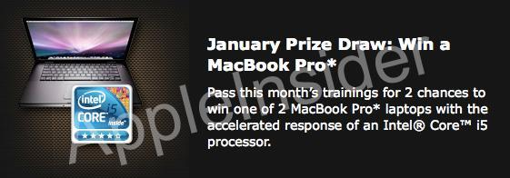 MacBook Pro with Intel Core i5 processor revealed via Intel promo flier? (update: prize now Envy 15 instead)