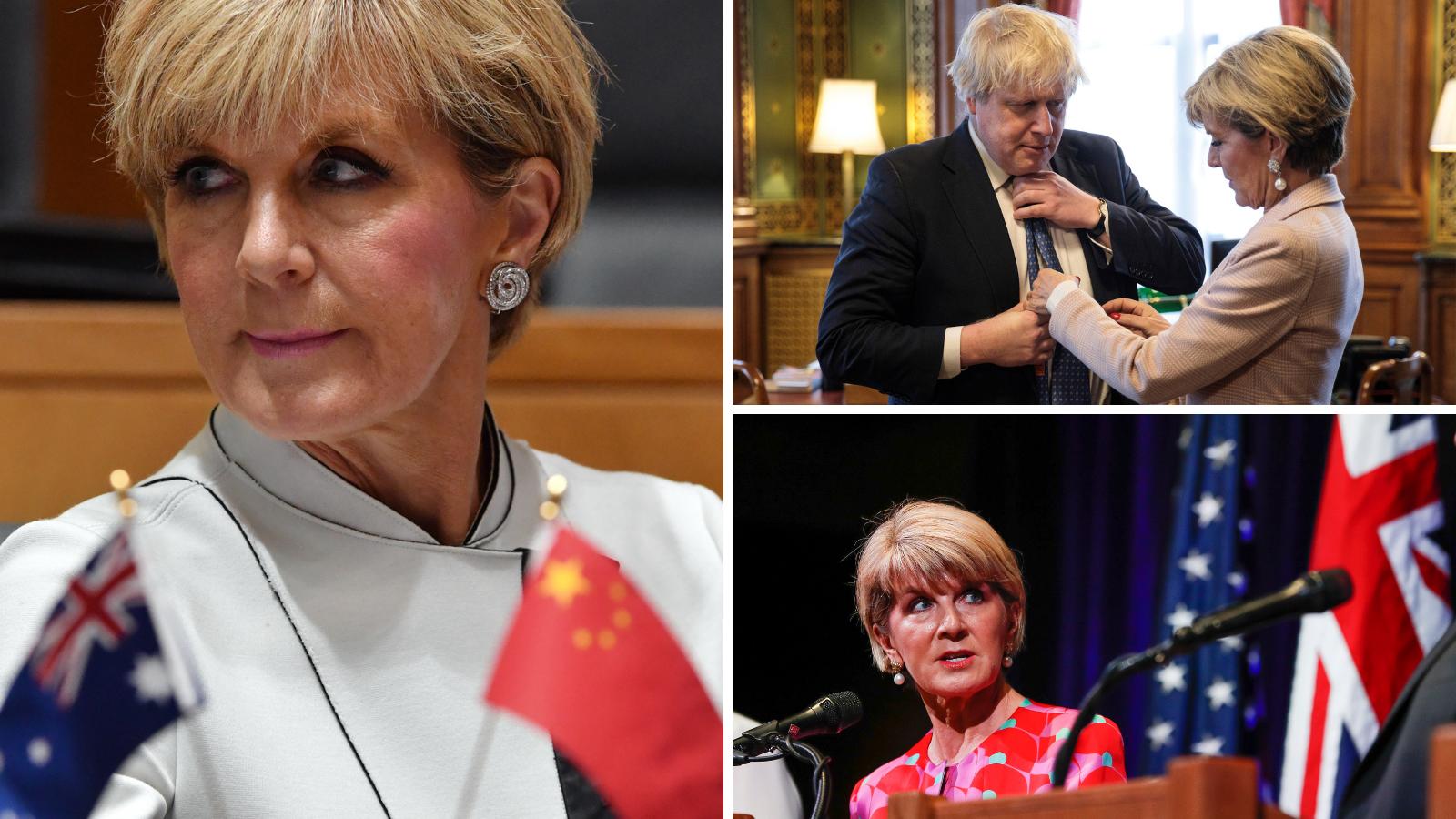 Former foreign minister Julie Bishop slams world leaders for 'damaging' leadership style