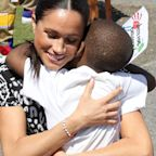 "Meghan Markle Wears a String Bracelet Reading ""Justice"" In South Africa"