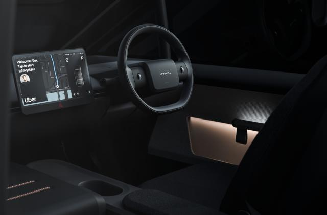 Uber teams up with Arrival to make custom EV taxis