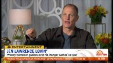 Woody Harrelson opens up about Jennifer Lawrence