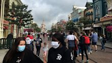 In pictures: Disneyland Paris reopens four months after closing due to coronavirus outbreak