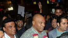 Mike Tyson makes his first trip to India, but what is he here for?
