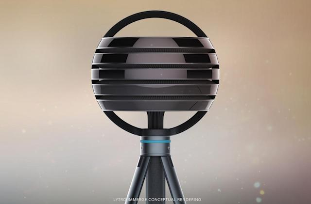 Immerge is a ball of Lytro cameras for VR video