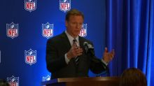"""Everyone should stand for the national anthem"": Goodell"