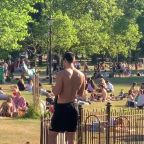 London sun-seekers jump gun on next stage of lockdown to soak up rays in Clapham Common