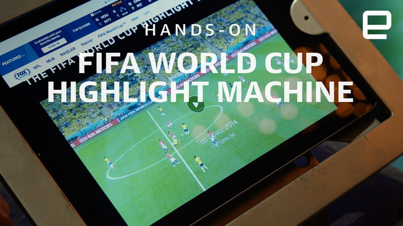 Fox Sports' World Cup Highlight Machine is powered by IBM's Watson | Engadget