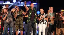 Dwayne Johnson Honors Pearl Harbor Veterans at Epic 'Rock the Troops'
