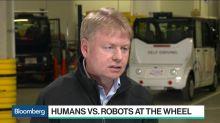 Toyota's Leonard Says Autonomous Driving Is 'Space Race in Tech'