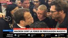 Emmanuel Macron hué, il se dispute violemment avec un agriculteur (Vidéo)