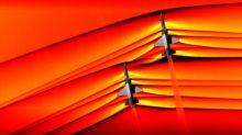 Nasa schießt erstmals Fotos von Stoßwellen zweier Überschallflugzeuge