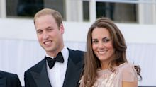 Glamorous photos of the Duke and Duchess of Cambridge at their first public engagement as a married couple resurface
