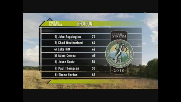 Total Outdoorsman Challenge 2010: Ep. 1 Part 4-  Final Shotgun Showdown
