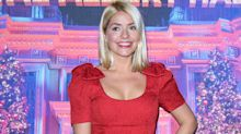 Holly Willoughby wears summer-ready heart print Ghost dress on This Morning