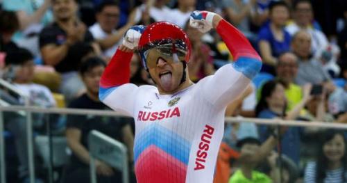 Cyclisme - Piste - ChM (H) - Denis Dmitriev roi de la vitesse à Hong Kong