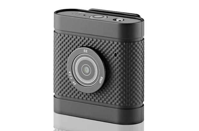 EE unveils a tiny 4G clip-on camera