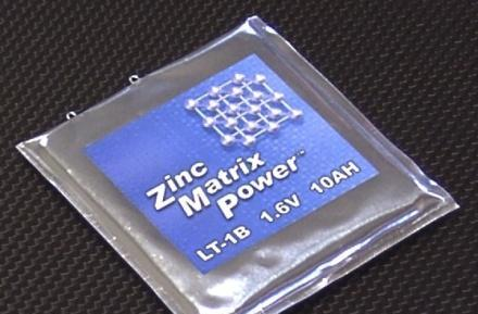 Zinc Matrix Power unveils silver-zinc battery to trump li-ion