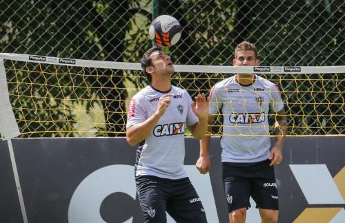 Atlético Mineiro llegó a Paraguay para enfrentar a Libertad