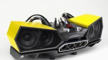 This Lamborghini-inspired speaker system is a must-have for supercar fans