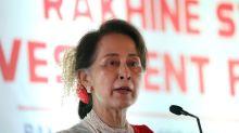 Myanmar's Suu Kyi woos investors to crisis-hit Rakhine, decries 'negative' focus