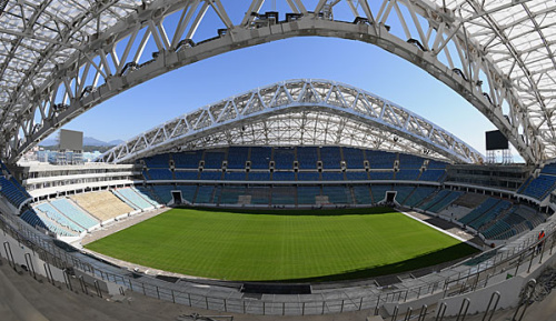 International: Russland feiert Fußballdebüt in Sotschi