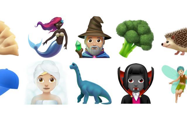 Apple adds wizard, dinosaur and mermaid emoji in iOS 11.1