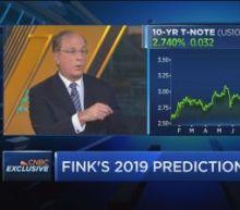 Here are BlackRock CEO Larry Fink's market predictions fo...