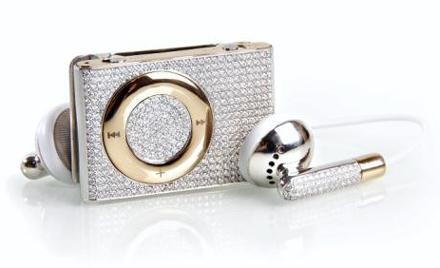 Blinged out iPod Shuffle doesn't come cheap