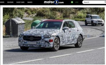 留一手跨界隱藏版,新 M.Benz C-Class All-Terrain 測試車被捕獲!