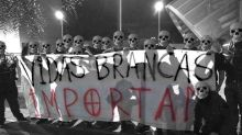 Grupo pendura faixa de supremacia branca e faz saudação nazista em São Paulo