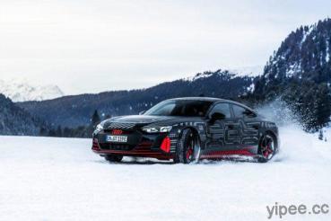 鋼鐵人專用車「奧迪 Audi e-Tron GT」純電轎跑,最大馬力至少 589 hp 起