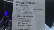 Woman receives racist receipt from Mississippi restaurant: 'I seek justice for this hate crime'