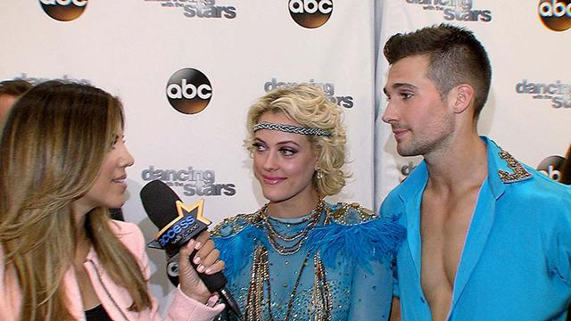 James Maslow And Peta Murgatroyd On Their Sexy 'DWTS' Performance