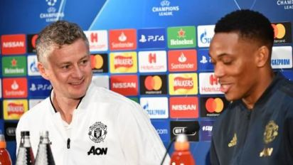 Foot - C3 - MU - Ole Gunnar Solskjaer(Manchester United):«Anthony Martial? On n'a pas encore tout vu!»