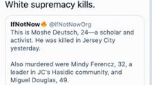 Rashida Tlaib deletes tweet falsely blaming Jersey City shooting on 'white supremacy'