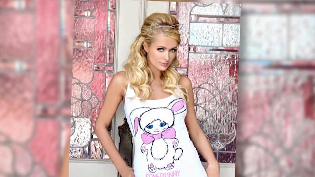 Paris Hilton and Celebrities Design Shirts for Charity