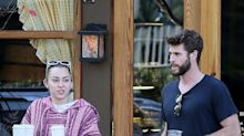 Miley Cyrus and Liam Hemsworth step out with bands on their left ring fingers
