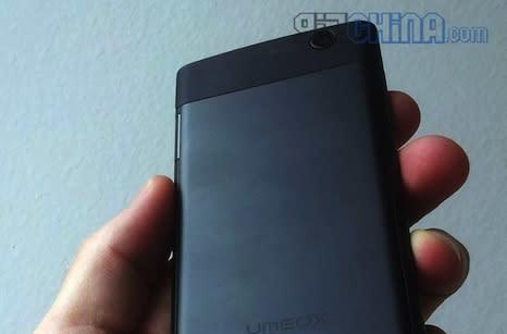 Umeox X5 handset gets photographed, shows off its 5.6mm-thick body