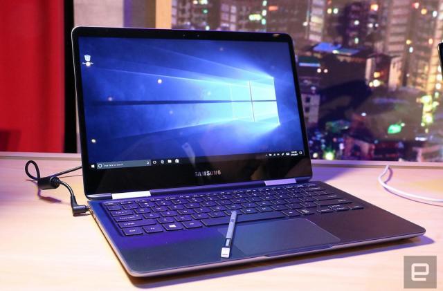 Samsung's Notebook 9 Pro harbors a stowaway S Pen