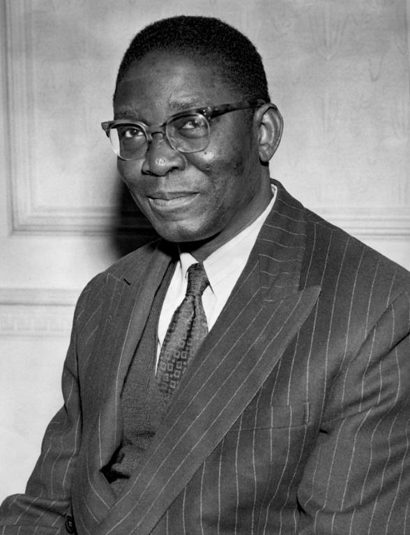 Nnamdi Azikiwe was appointed Nigeria's first president when it became a republic