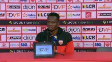 Foot - L1 - Dijon : Allagbé : «On a bousculé cette équipe de Rennes»