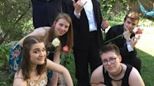 This story of a high school senior ditched by his friends on prom night has a happy ending