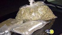 3 arrested, 85 pounds of pot found in Fresno bust