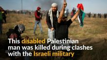 UN condemns killing of disabled Palestinian man