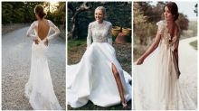 The top seven wedding dresses on Pinterest right now