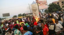 Silver monolith torched in Congo after mysterious appearance