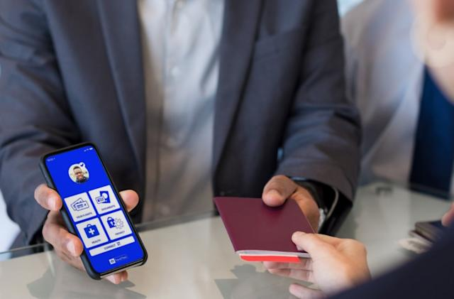 The airline industry will release a COVID-19 passport for your iPhone next month