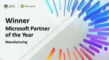 PTC es nombrado socio fabricante global del año en los Premios Partner of the Year 2020 de Microsoft