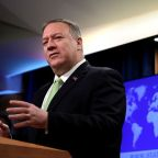 Pompeo says Trump warned Russia on election meddling, disputes Lavrov's account
