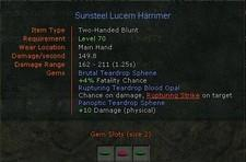 Short AoC downtime today will fix socketed item bug